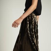 La falda plisada