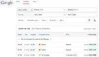 El buscador de vuelos de Google aterriza en España