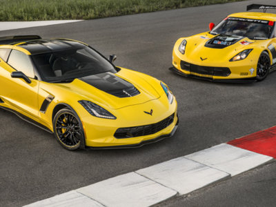 2016 Corvette Z06 C7.R Edition, en honor a las versiones de competición