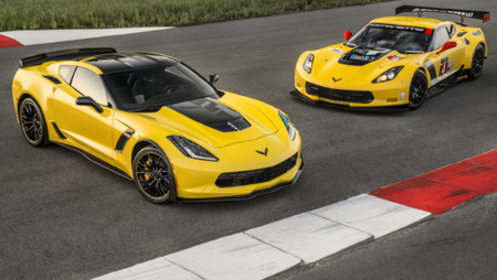 2016 Corvette Z06 C7.R Edition, en honor a las versiones de competición