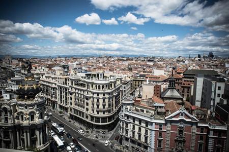 Azotea Tartan Roof Círculo de Bellas Artes de Madrid