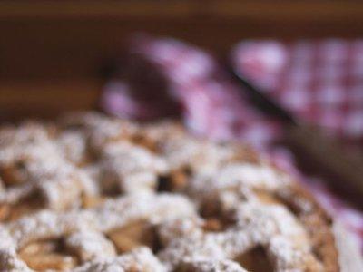 Pastel holandés de manzana. Receta