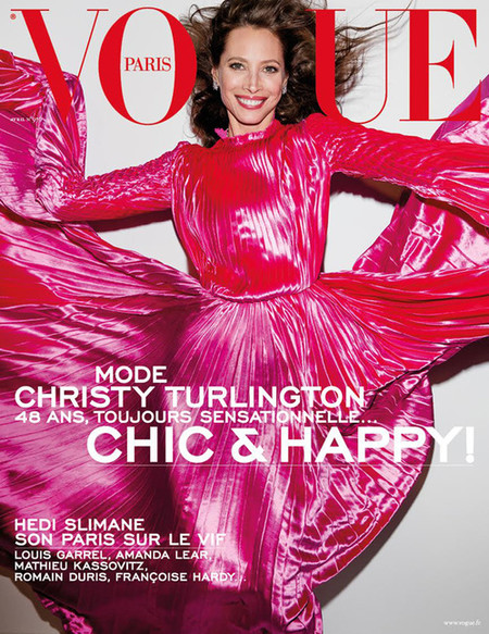 Vogue Paris: Christy Turlington