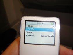 Google Calendar en tu iPod