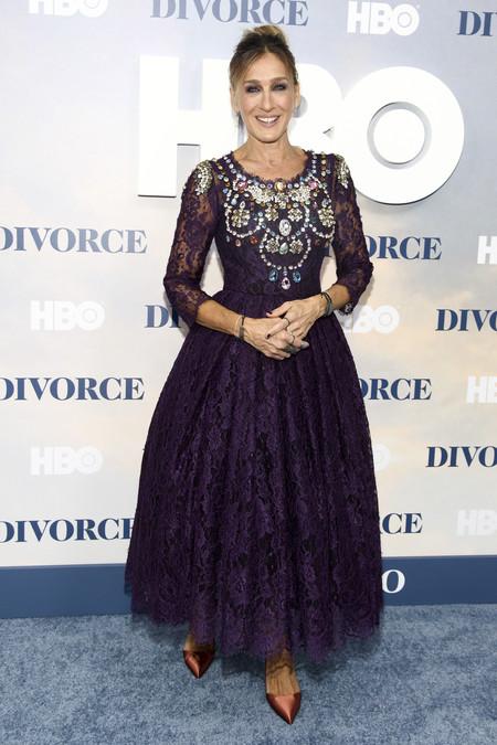Sarah Jessica Parker Divorce Serie Estreno Nueva York Dolce Gabbana 1