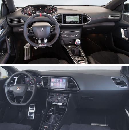 Seat Leon Cupra Vs Peugeot 308 Gt 5