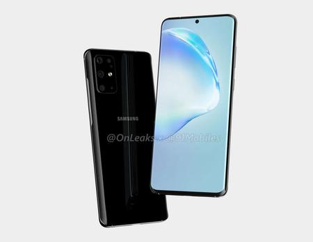 El posible diseño del Samsung Galaxy S11 se filtra dejando ver un agujero en pantalla y un generoso módulo para la cámara