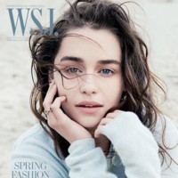 Emilia Clarke, una belleza en la portada de WSJ