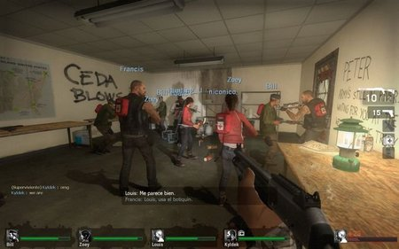 Imagen de la semana: Left 9 Dead