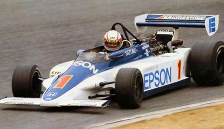Satoru Nakajima 1983 Fórmula 2 japonesa
