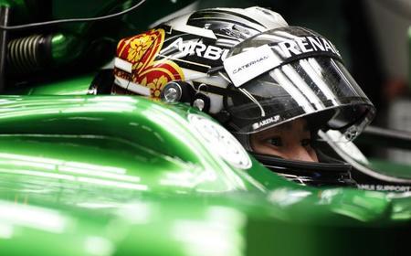 Caterham hace oficial su alineación para Monza con Roberto Merhi pilotando el viernes
