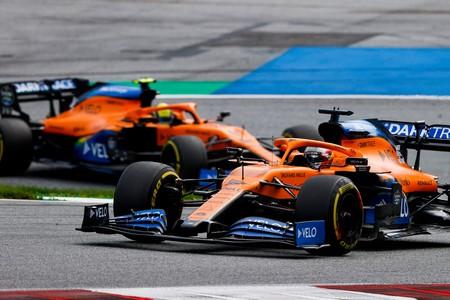Sainz Norris Estiria F1 2020