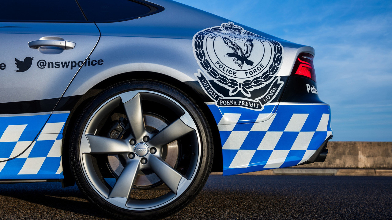 Foto de Audi S7 Sportback Policía Australia (14/15)