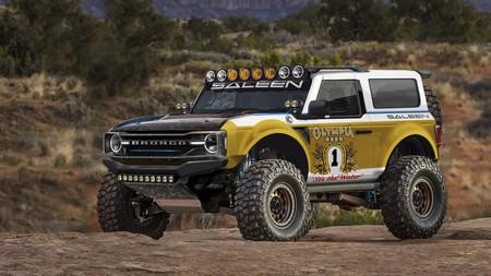 Saleen ya quiere meter mano al Ford Bronco, y convertirlo en un espectacular coche para ganar la Baja 1000