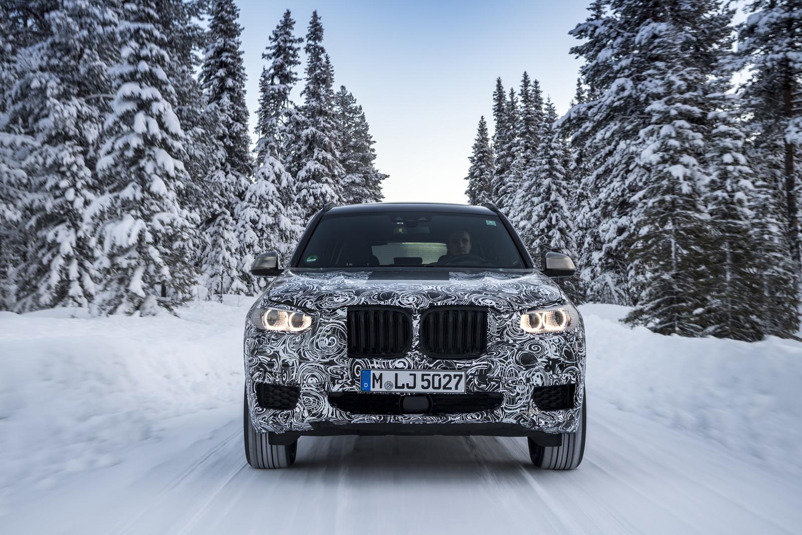 Foto de BMW X3 2018 camuflaje (11/16)