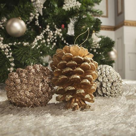 Si quieres una Navidad elegante y trendy, apuesta por el oro