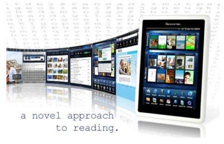 Pandigital Novel, el lector de libros electrónicos con Android que quiere ser un tablet