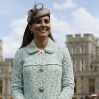 Kate Middleton Whiteley sombrero look