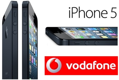 Precios iPhone 5 con Vodafone según la tarifa elegida