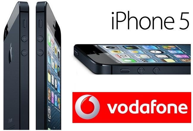 Precios iPhone 5 con Vodafone España