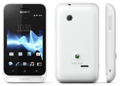Sony Xperia tipo con versión Dual SIM