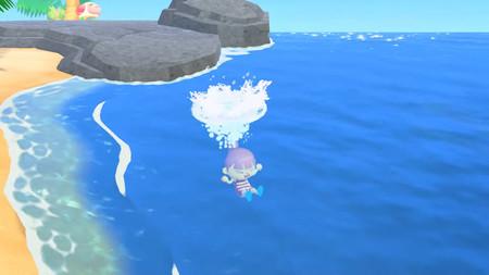 ¡A darse un chapuzón! La nueva actualización de Animal Crossing: New Horizons nos permitirá nadar en el océano