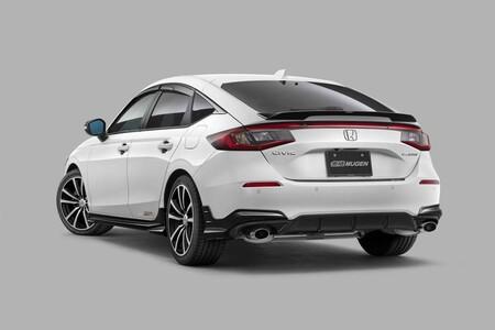 Honda Civic 2022 Boy Kit Mugen 2