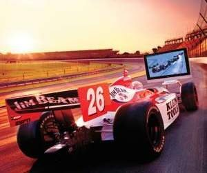 Simulador de la IndyCar