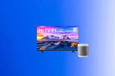 """Chollo pack en MediaMarkt y PcComponentes: la smart TV de Xiaomi de 32"""" con Android TV y Chromecast y el altavoz Mi Smart a 248 euros"""
