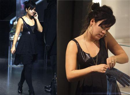 Lily Allen ahora usa los modelos de KM by Topshop