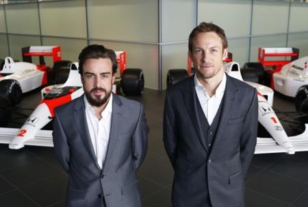 Presentacion Mclaren 2015 Alonso Button