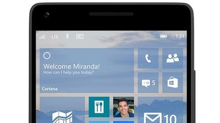 Microsoft pretende tener listos smartphones de gama alta para acompañar a Windows 10