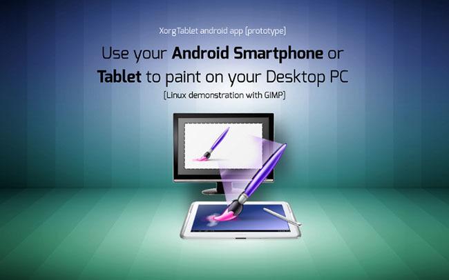 XorgTablet - Usa tu Android como tableta gráfica en tu PC