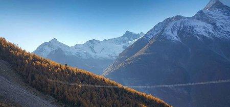 Suiza inaugura el puente en suspensión más largo del mundo