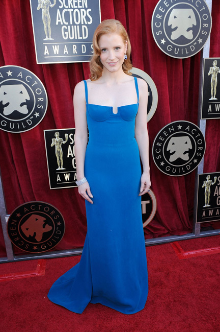 Jessica Screen Actors Guild Awards