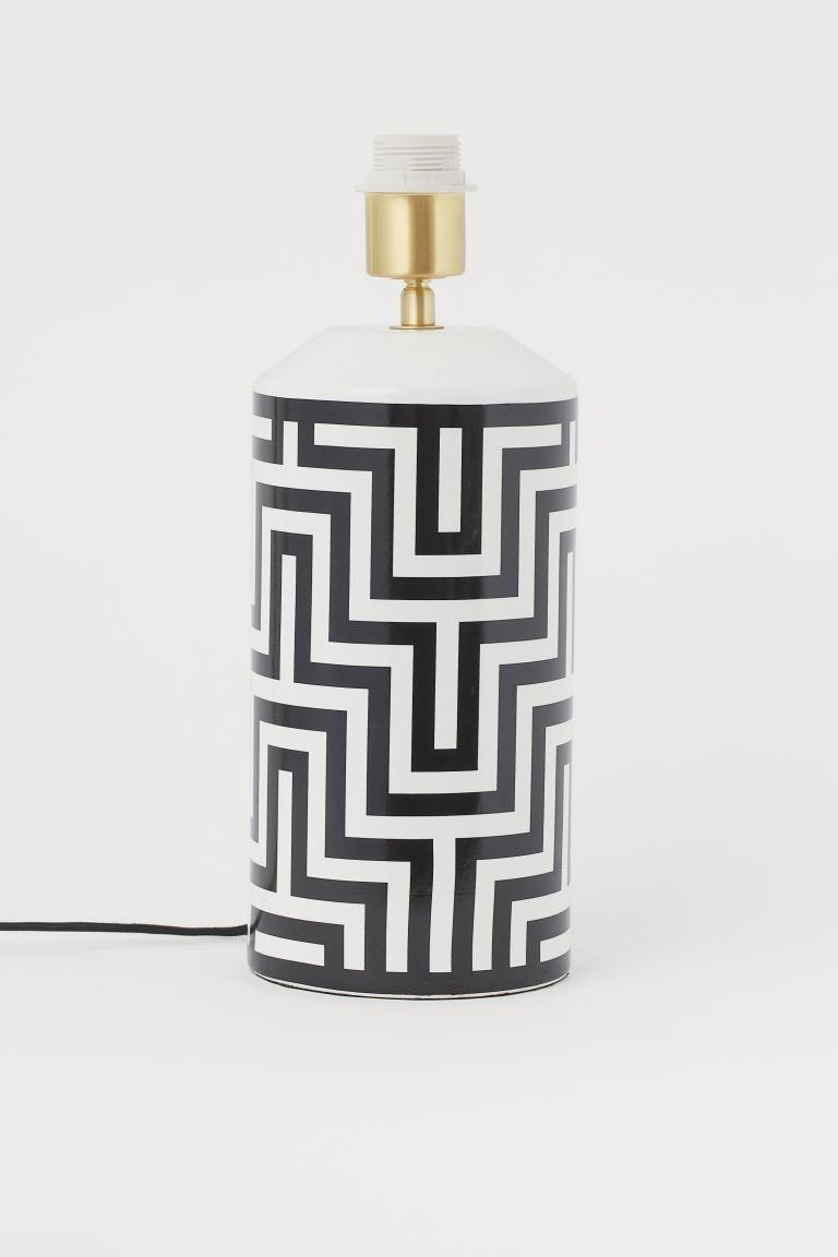 Base para lámpara de cerámica
