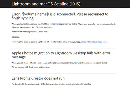 Problemas Mac Os Catalina Photoshop Lightroom 05