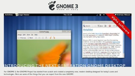 Gnome 3 se presenta en sociedad con un sitio web (nada más por ahora)