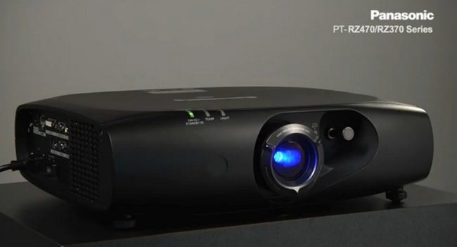 Panasonic proyector LED
