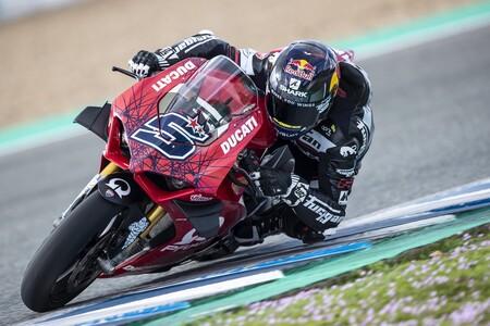 Zarco Ducati Panigale V4 S Jerez 2021