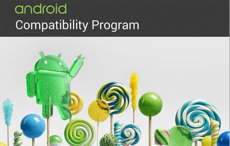 Google actualiza el documento de definición de compatibilidad (CDD) de Android 5.0