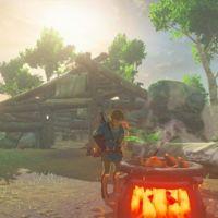 Así cocina y tala árboles Link en el nuevo gameplay de Zelda: Breath of the Wild