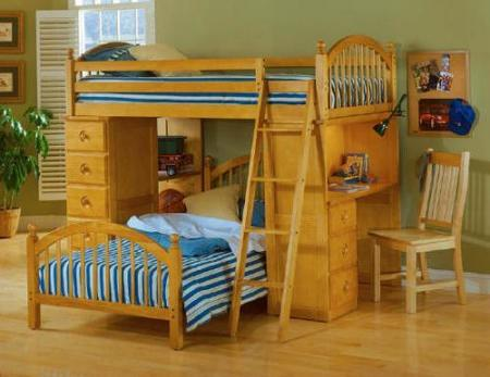 litera escritorio bunk beds