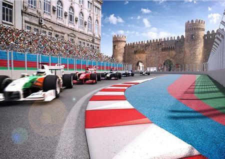 El Gran Premio de Europa en Bakú ya tiene trazado
