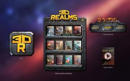 Menú de 3D Realms Anthology