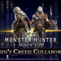 Monster Hunter World inicia su colaboración con Assassin's Creed: vístete y caza como Bayek y Ezio