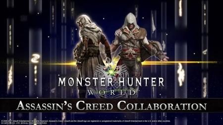 Monster Hunter World inicia su colaboración con Assassin's Creed: vístete y caza como Bayek y Ezio