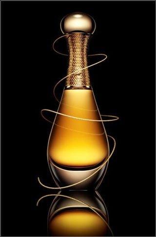 J'Adore L'Or, la esencia de perfume de Dior