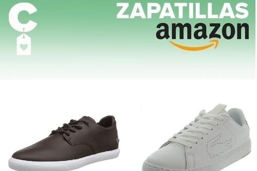 Chollos en tallas sueltas de zapatillas de marca Lacoste, Diesel, Levi's o Tommy Hilfiger en Amazon