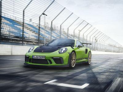 Ya está aquí el espectacular Porsche 911 GT3 RS 2018, con 520 CV y 1.420 kilos de peso